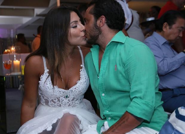 Andressa Ferreira e Thammy Miranda (Foto: Anderson Borde/AgNews)