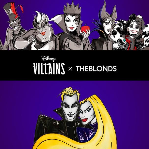 The Blonds apresenta Vilões da Disney durante a New York Fashion Week (Foto: Divulgação)