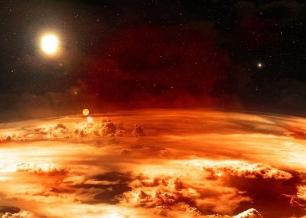 Temperaturas extremamente quentes ou congelantes em outros planetas podem tornar a vida insuportável — Foto: Getty Images