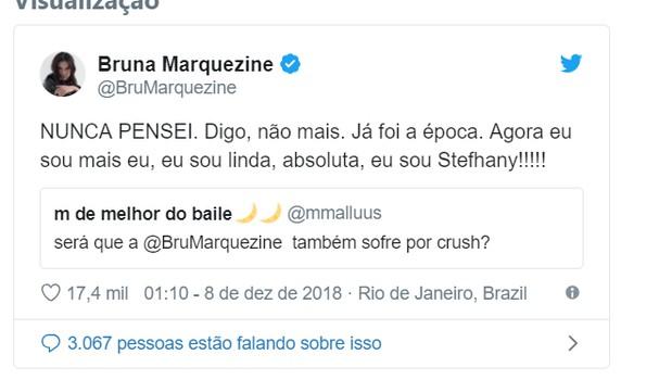 Bruna Marquezine (Foto: Reprodução Twitter)