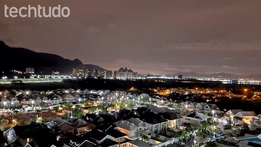 Motorola One Vision: foto com visão noturna — Foto: Vitor Grama/TechTudo