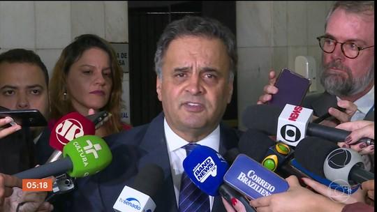 Aécio Neves é alvo de operação que investiga suposta compra de apoio político