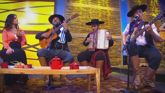 Grupo Canto Livre, Daniel Cavalheiro e Leandro Selister são os convidados do 'Galpão Crioulo'