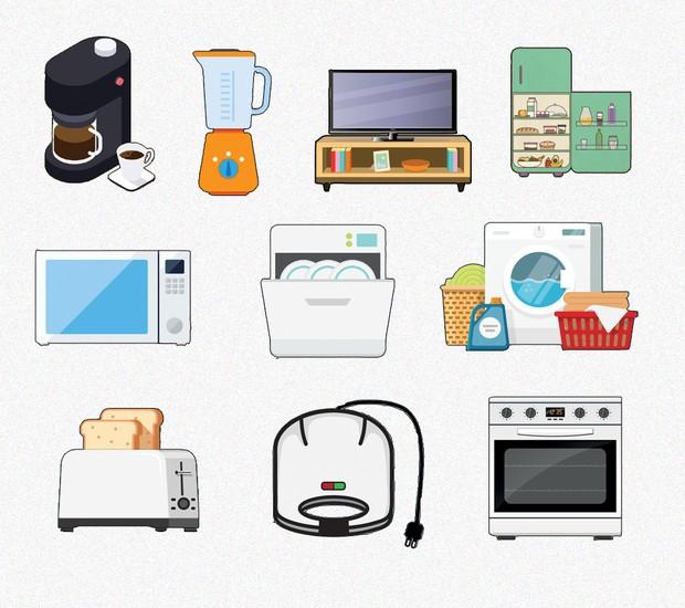 Aprenda a limpar corretamente os eletrodomésticos da sua casa