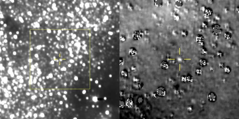 Imagens divulgadas pela NASA com as fotografias capturadas pela New Horizons (Foto: Divulgação/NASA)