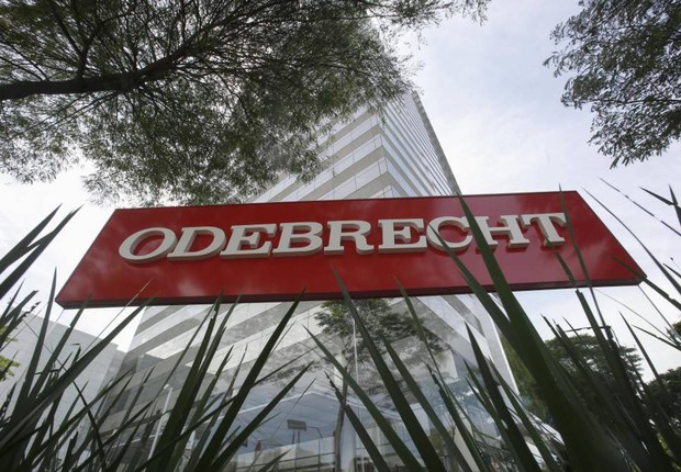 Sede da construtora Odebrecht em São Paulo (Foto: EFE)