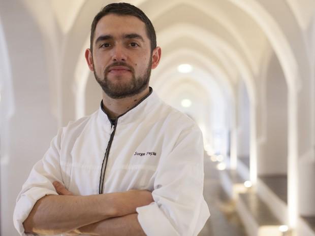O chef português Jorge Peças (Foto: Divulgação)