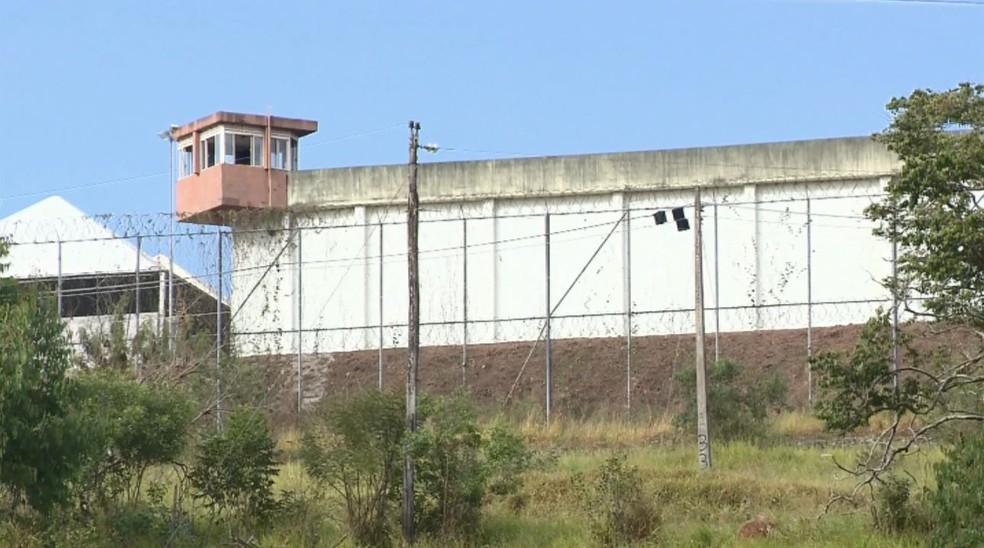Presídio teve dois casos de fuga nas últimos dias em Pouso Alegre (MG) (Foto: Reprodução/EPTV)