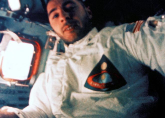 Bill Anders foi o piloto da missão Apollo 8 (Foto: Nasa via BBC News Brasil)