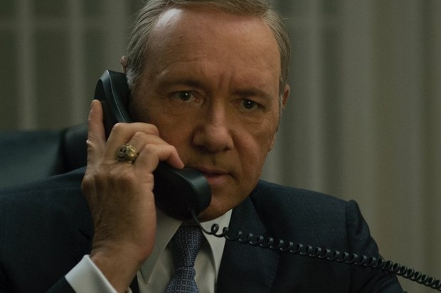 Kevin Spacey em House of Cards (Foto: reproduçao)