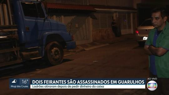 Dois feirantes são mortos a tiros ao reagir a assalto em Guarulhos