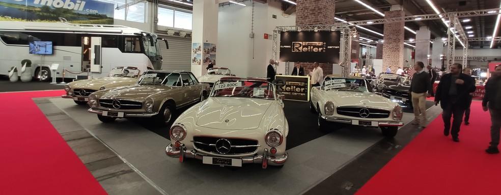 Salão de Frankfurt 2019 tem espaço para os clássicos — Foto: André Paixão / G1