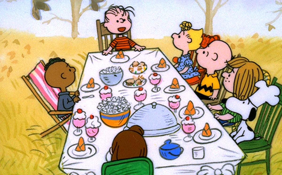 Cena de 'A Charlie Brown Thanksgiving' (1973) (Foto: Reprodução)