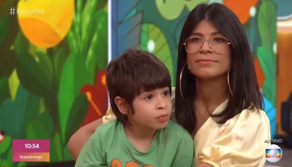 Mãe não desistiu até realizar sonho de filho com paralisia que queria andar de skate  — Foto: TV Globo