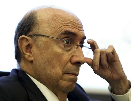 O ministro Henrique Meirelles (Foto: Marcelo Camargo/Agência Brasil)