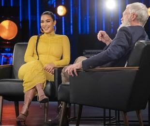 Kim Kardashian e David Letterman | Netflix