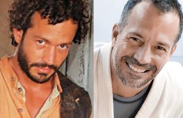 """A novela marcou também a estreia de Malvino Salvador na TV, no papel do peão Tobias. O trabalho mais recente do ator na TV foi em """"A dona do pedaço"""" (2019) (Foto: TV Globo - Reprodução)"""