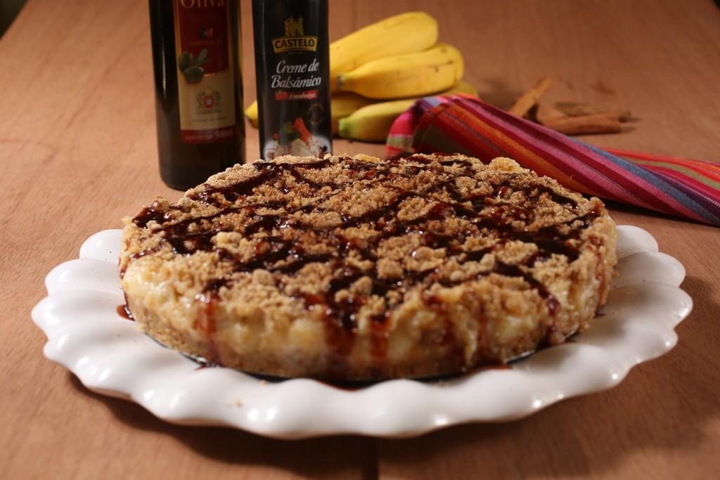 Torta integral de banana é fácil e rápida de preparar (Foto: Divulgação)