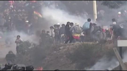 ONU condena repressão a manifestantes pró-Evo Morales