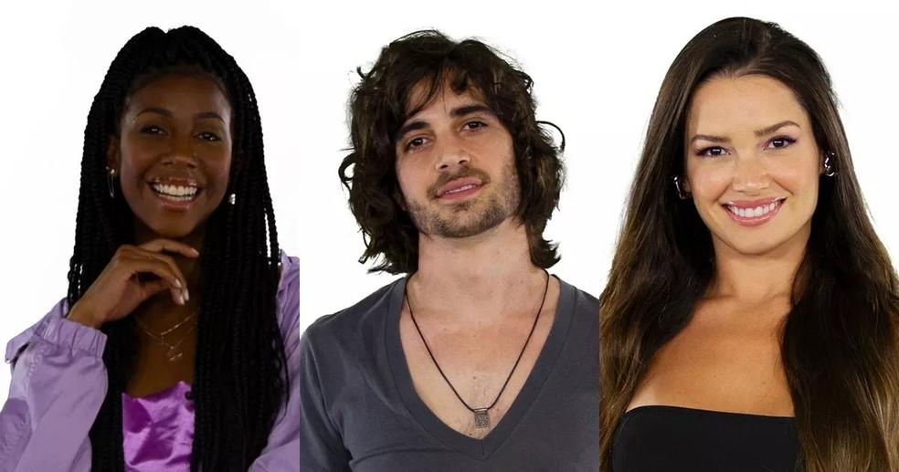 Como votar no BBB 21? Camilla, Fiuk e Juliette estão na final do programa — Foto: Divulgação/Gshow