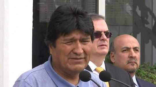 Evo Morales chega à Cidade do México