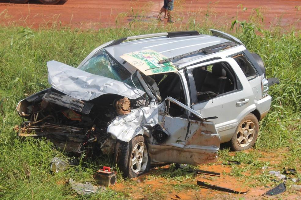 PRF constatou redução no número de acidentes em MT — Foto: PRF/MT