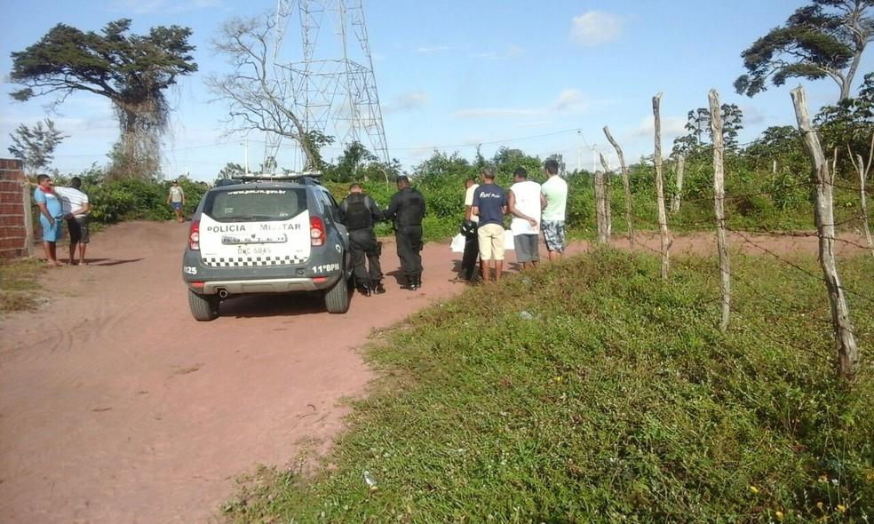 Corpos foram encontrados em São Gonçalo do Amarante, na Grande Natal (Foto: Divulgação/PM)