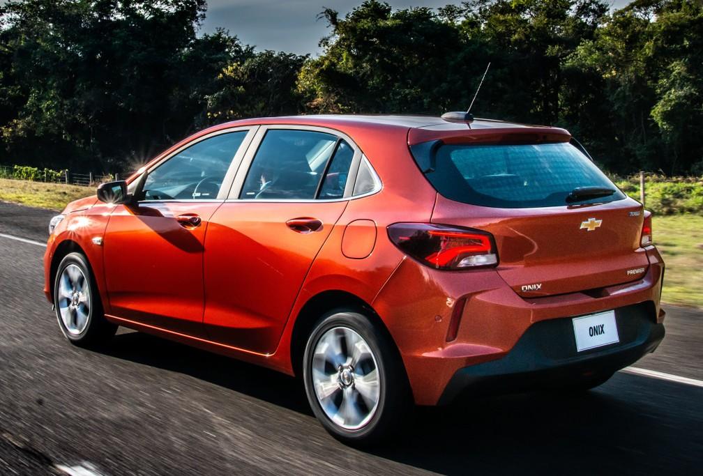 Chevrolet Revela Dimensoes Do Novo Onix Hatch E Dados Do Motor 1 0 Sem Turbo Auto Esporte G1