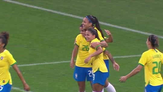 Equipe feminina vai comandar transmissão da CBN em amistoso da Seleção Brasileira
