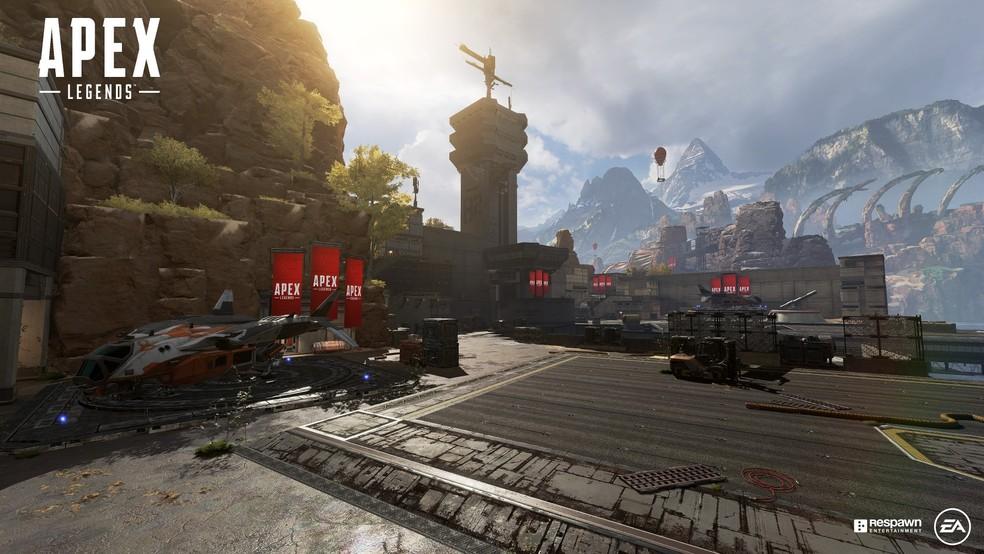 O combate em Apex Legends é parte da fórmula do sucesso do jogo — Foto: Divulgação/EA