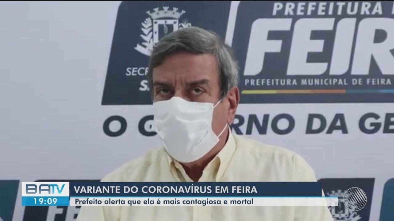 Nova variante do coronavirus é detectada em Feira de Santana, a 100 Km de Salvador