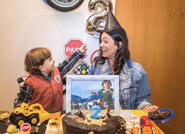 Suzana Alves relembra aniversário do filho  (Foto: Reprodução/Instagram)