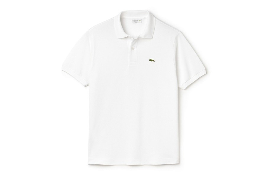 Camisa polo branca Lacoste  (Foto: Reprodução)