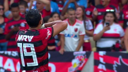 Berrío dá assistência, e Dourado marca para o Fla: veja o gol