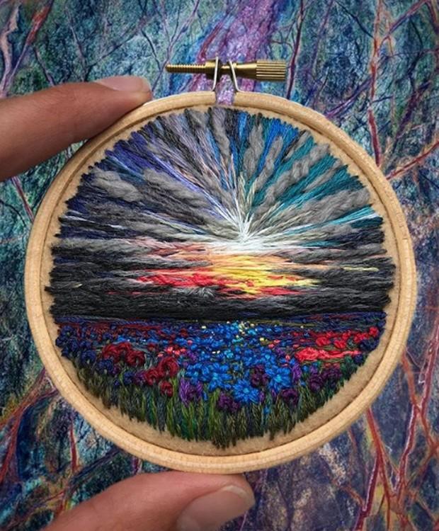 O nascer e pôr do sol é retratado em várias obras (Foto: Instagram/ Reprodução)