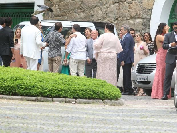 Fernanda Rodrigues e Raoni Carneiro (Foto: Daniel Pinheiro/AgNews)