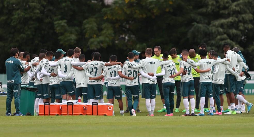 Foco do Palmeiras agora é a classificação para a Libertadores do ano que vem (Foto: Cesar Greco/Ag.Palmeiras)