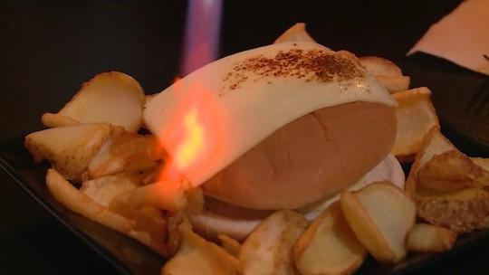 Só na web: conheça o hambúrguer de fondue