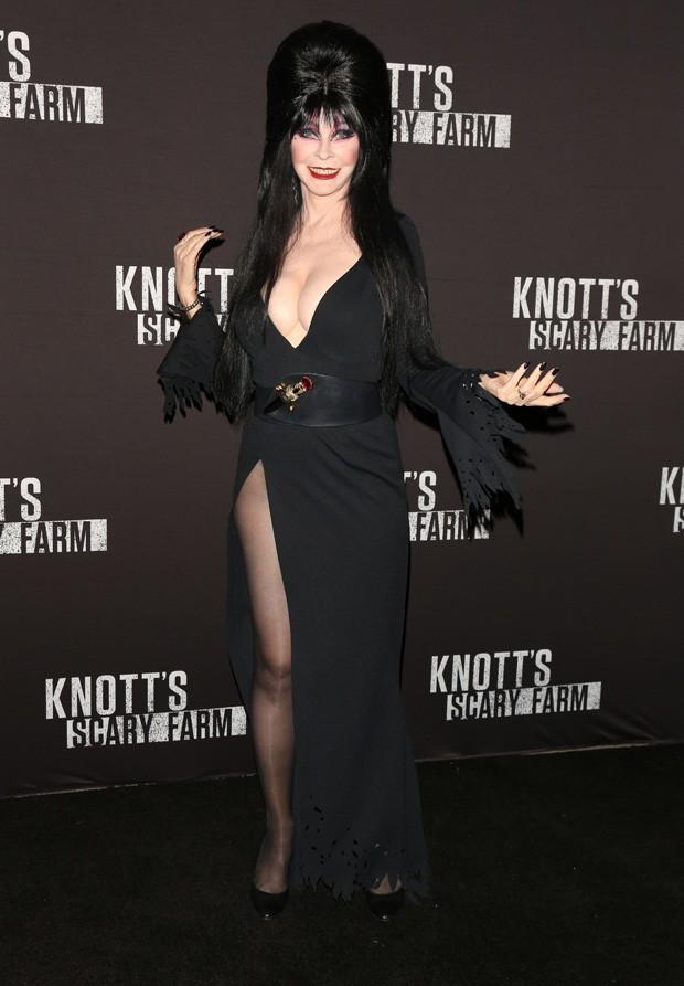 Cassandra Peterson, a eterna Elvira (Foto: AKM-GSI)