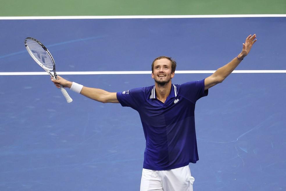 Daniil Medvedev, campeão do US Open 2021 — Foto: Al Bello / Getty Images