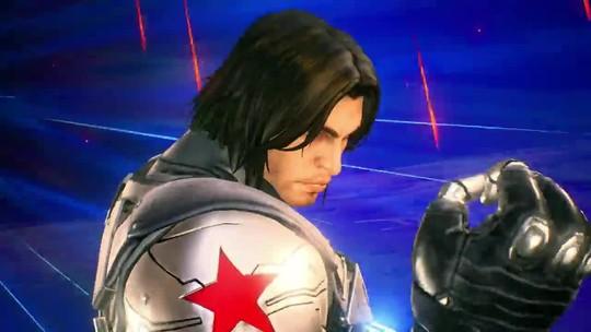 Veja Venom, Viúva Negra e Soldado Invernal em Marvel vs. Capcom: Infinite