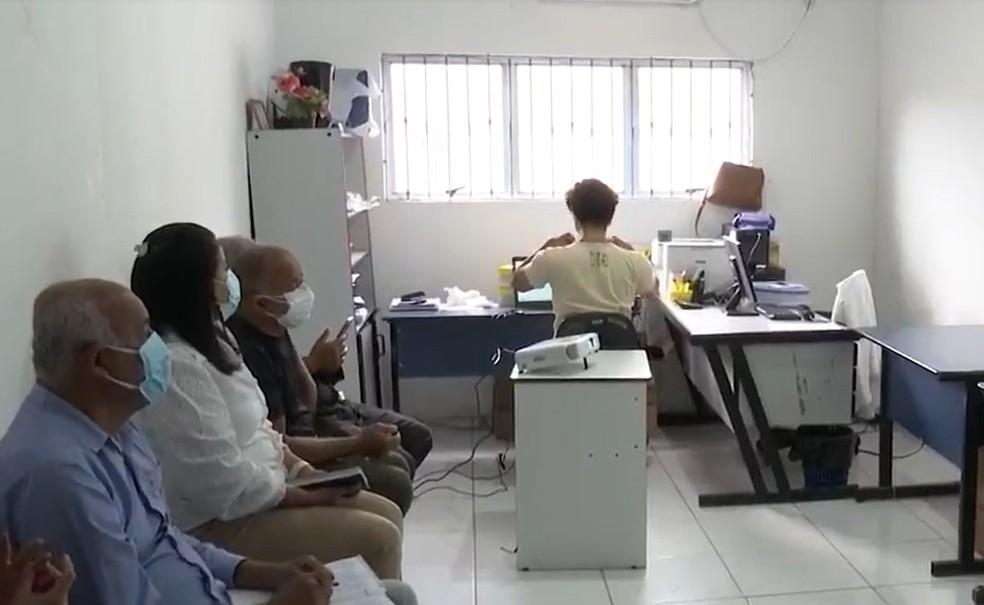 Comitê acompanha o surto de malária em Itabela, no extremo sul da Bahia — Foto: Reprodução/TV Santa Cruz