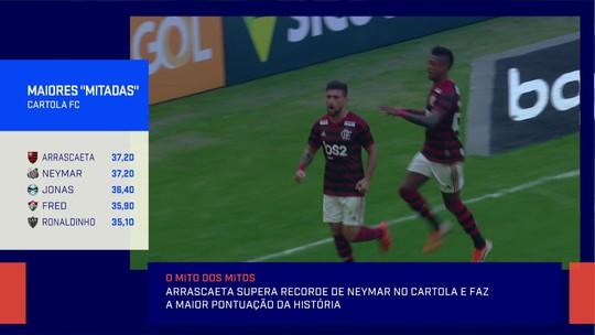 Jornalista Gilmar Ferreira revela ter mitado com Arrascaeta e todo time do Flamengo