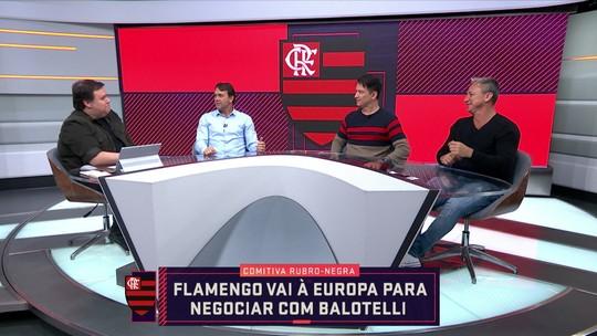 """Paulo Nunes elogia possível contratação de Balotelli: """"É a cara do Flamengo"""""""