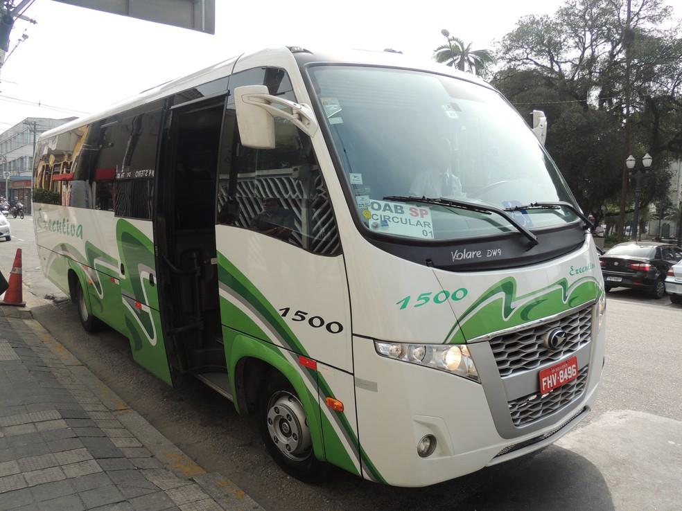 Ônibus OAB (Foto: Nathalie Monteiro – Assessoria OAB Santos)