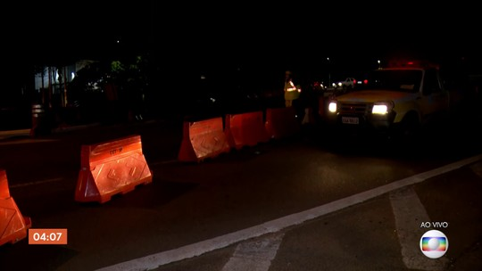 Pista da Ponte do Jaguaré em SP é interditada para obras