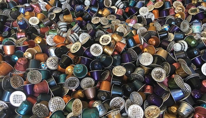 Cápsulas de café que serão recicladas (Foto: Carina Brito)