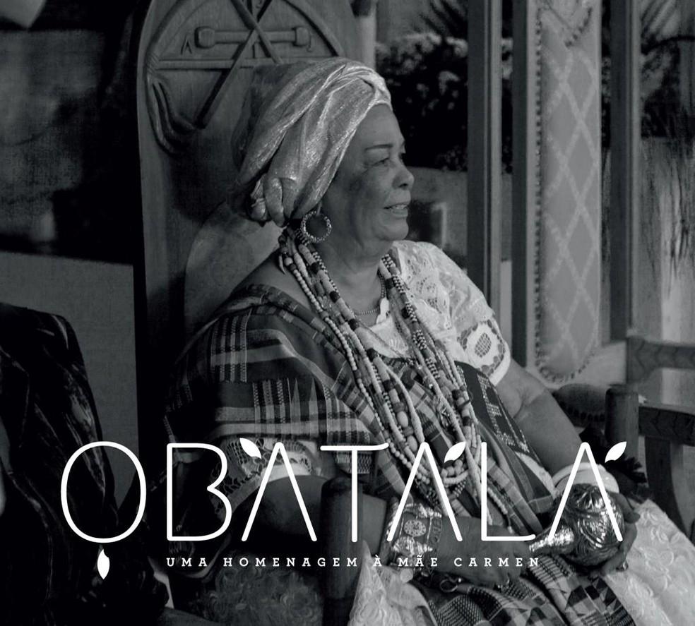Capa do disco 'Obatalá – Uma homenagem à Mãe Carmen' — Foto: Divulgação