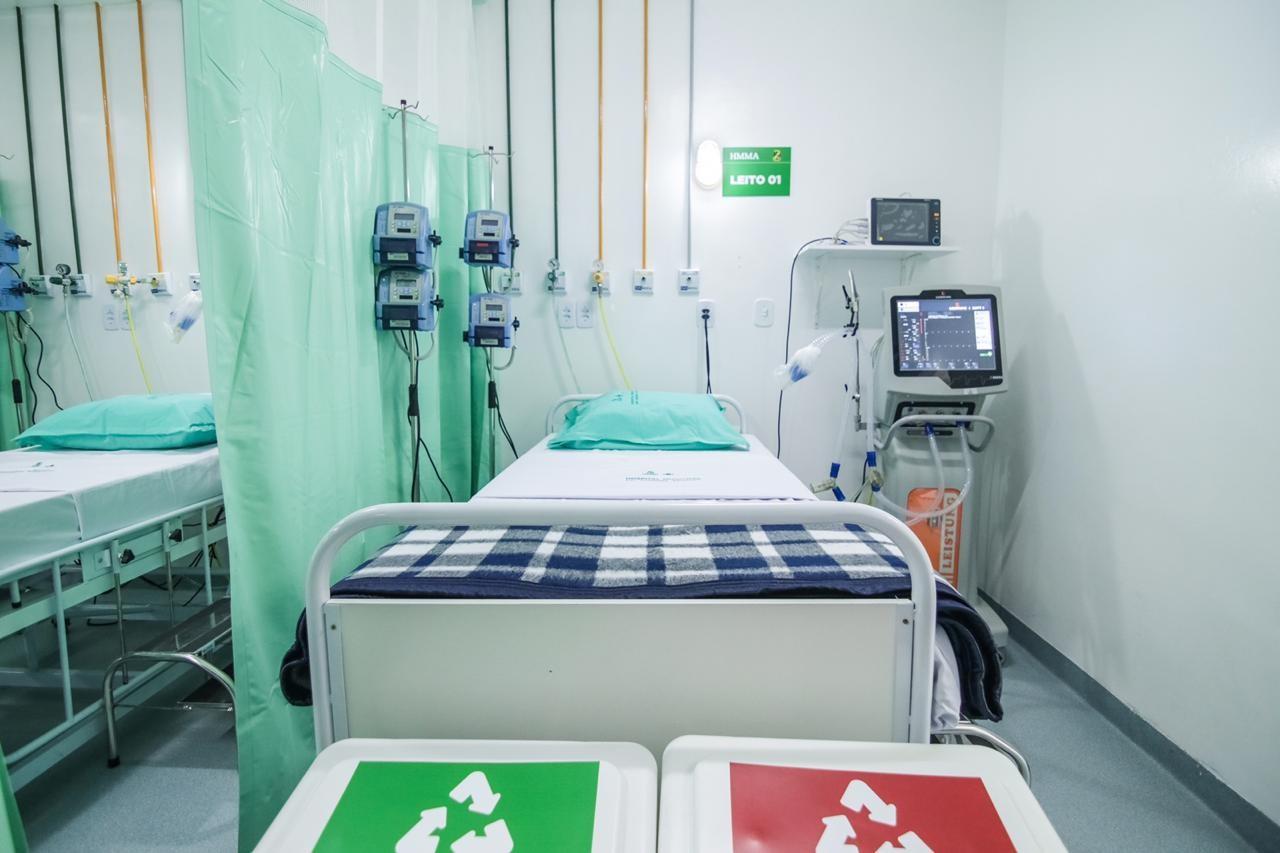Hospital Manoel Afonso recebe 10 leitos de UTI para tratamento de Covid-19 em Caruaru