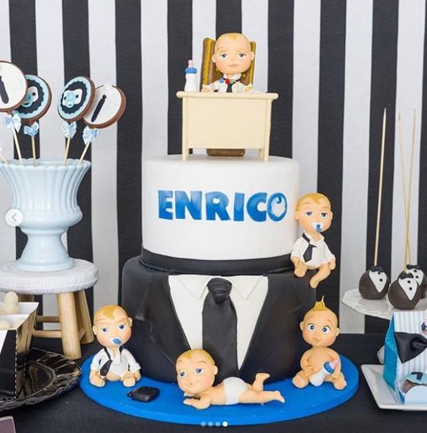 Festa de 7 meses de Enrico (Foto: Reprodução/Instagram)